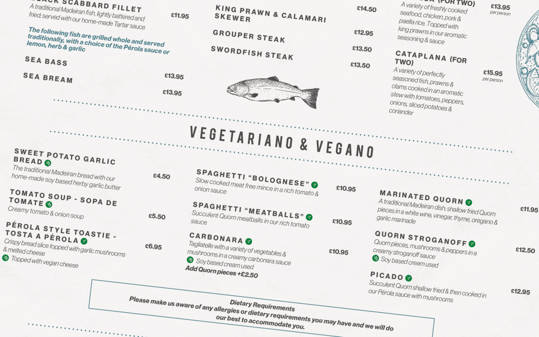 An appetite for aesthetic- why having a well-designed menu is important and how to get it right.
