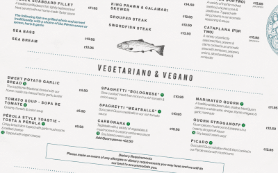 An appetite for aesthetic. Why having a well-designed menu is important and how to get it right.